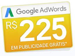 Cupom AdWords R$ 225